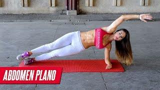 VIENTRE PLANO: 8 ejercicios de abdominales | Strong abs at home