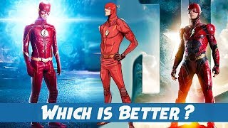 Why The Flash Season 4 Suit is Better than the Movie