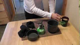 Optimus Crux With Terra Cooking Set - The Outdoor Gear Review