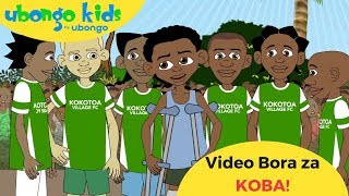 Mjue Kaka Koba | Video Bora za Ubongo Kids | Katuni za Kiswahili