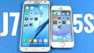Samsung Galaxy J7 vs iPhone 5S