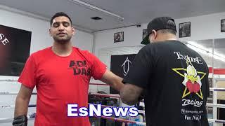 Boxing Superstar Amir Khan: I Can Fight Brook, Pacquiao, Garcia, Thurman, Horn