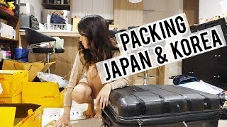 Packing for a Business Trip Japan & Korea