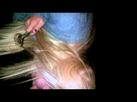 Blonde essex girl cinnamon challenge
