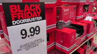 Black Friday Shopping at Macy's! 2017 Door Busters!