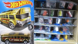2016 P USA Factory Sealed Hot Wheels Case Unboxing Video by RaceGrooves