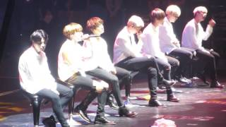 [FANCAM] 160730 BTS (방탄소년단) Epilogue in Manila - Outro: Love Is Not Over