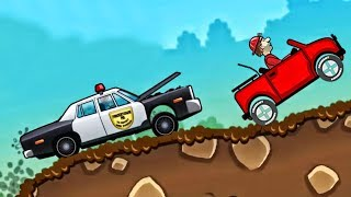 Cars - Hill Climb Racing Police Car - Children Games Сars for kids Android HD  - Video for kids