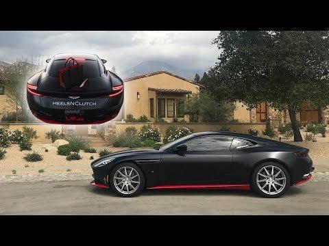 Xxx Mp4 Aston Martin DB11 Wrapped In Satin Black For HeelsNClutch 3gp Sex