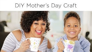 Tia Mowry's Mother's Day Craft   Quick Fix