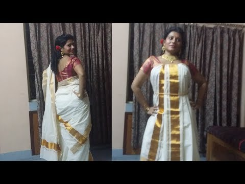Xxx Mp4 Mundu Neryathu Namboodiri KERALA Set Saree Drapes 3gp Sex