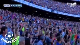 اهداف مباراة برشلونة وريال سوسيداد 2 0 2015 05 09 تعليق فعد العتيبي HD