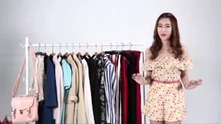 Fashion : สาวไหล่กว้างแต่งยังไงไม่ให้ดูMAN
