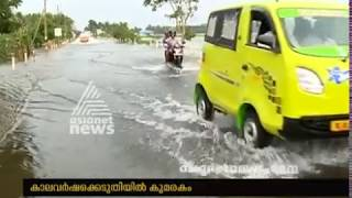 Roads under water in Kumarakom