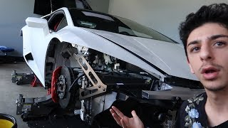 THEY DESTROYED MY LAMBORGHINI... (WTF)