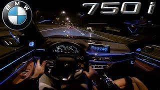 POV BMW 7 Series NIGHT DRIVE INTERIOR LIGHTING