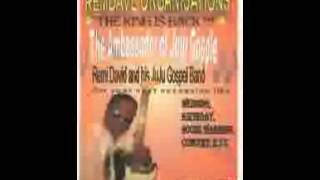 Remi david live music performance in USA (king of juju gospel)