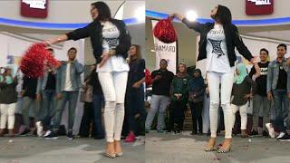 Fuhhh! Raysha Rizrose menari lagu hindustan Chaiya Chaiya