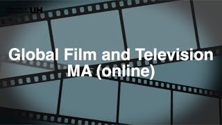MA Global Film and Television (online)