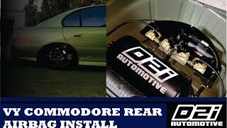VY Commodore Airbag Suspension Install | D2I Auto