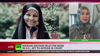 Iranian anchor held for week in US, set to appear in court