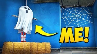 HIDING AS A *GHOST* IN FORTNITE! - Funny Fails and WTF Moments! #361