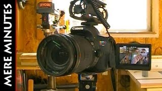 The equipment I use to shoot videos for YouTube