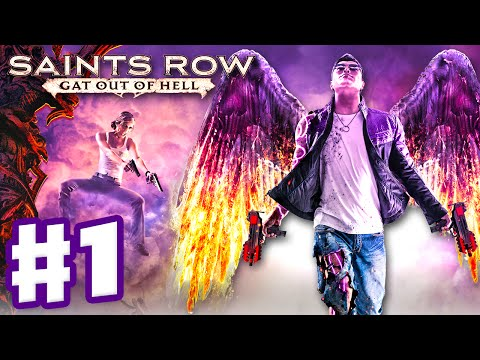 Saints Row: Gat Out of Hell - Gameplay Walkthrough Part 1 - Johnny Gat & Kinzie! (PC, Xbox One, PS4)