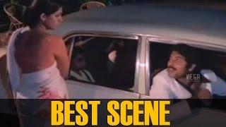 Mammootty drops Seema at home and Meet Shankar ||  Sandhyakku Virinja Poovu