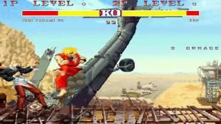 MUGEN CAPCOM 1992 VS KOF 1995 ( Street Fighter II Champion Edition VS The King of Fighters '95 )