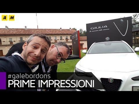 Alfa Romeo GIULIA 2.2 Diesel prime impressioni