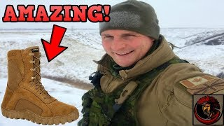 Military Boot Review- ROCKY S2V Thermal/Waterproof Boots | AMAZING RESULTS! 😲