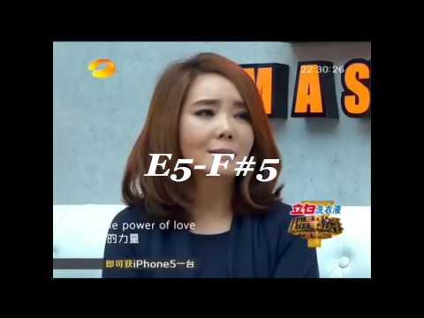 Susan Huang(黄绮珊)  VS  Regine velasquez (B2-G6)
