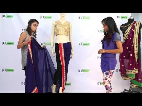 Xxx Mp4 How To Drape Sonam Kapoor Half Dhoti Style Saree 3gp Sex