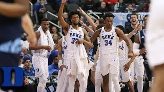 Duke To Sweet 16 After Dominant Win vs. Rhode Island
