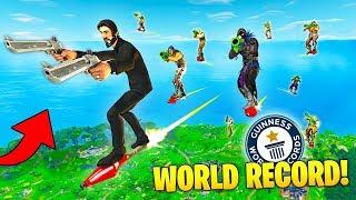 WORLD RECORD ROCKET RIDE! - Fortnite Fails & Epic Wins #10 (Fortnite Funny Moments Compilation)