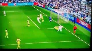Fernando own goal Real Madrid vs Manchester City 1-0 5/4/16