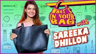 Sareeka Dhillon Reveals What's In Her Bag   What's in Your Bag   Ye Hai Mohabbatein And Ghulaam