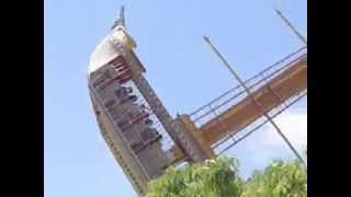 سفيتة الموت ship رعب خوف مدينة الملاهي Scary amusement park ،Super Land