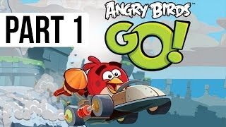 Angry Birds Go! Gameplay Walkthrough Part 1 - Seedway Track 1 World 1 (iOS, Android)