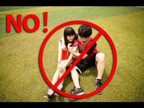 Tình cảm học trò bị cấm tại Trung Quốc