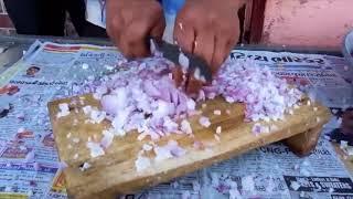 Picando cebolla en shinga