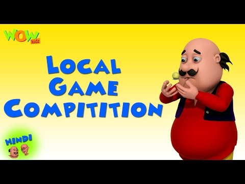 Local Game Competition - Motu Patlu in Hindi - 3D Animation Cartoon -As on Nickelodeon