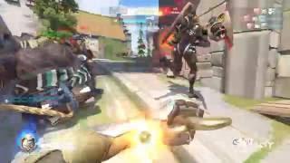 Overwatch - Genji Gameplay: Overtime Madness
