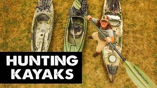 Our Favorite HUNTING KAYAKS - PROS and CONS