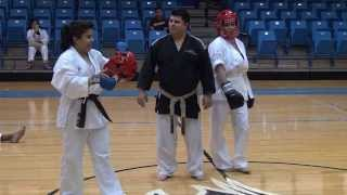 Gladis Galvan , Kume Karate Vs. Kick Boing at San Jacinto College 10-19-2013