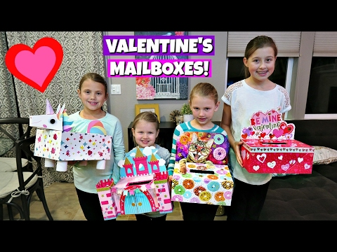 MAKING VALENTINE S DAY MAILBOXES