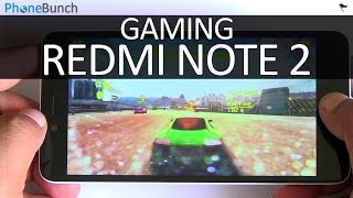 Xiaomi Redmi Note 2 Prime Gaming Review with Temp Check
