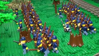 LEGO U.S. Civil War battle collaborative – BrickCon 2015
