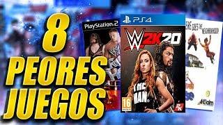 8 PEORES VIDEOJUEGOS DE WWE | Queremos WWE